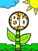 Alphabet Flower and Petal Beginning Initial Sounds Matching Literacy Center Game