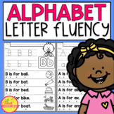 Alphabet: Letter Fluency Sentences to Teach Beginning Sounds & Reading ELL