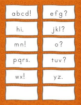 Alphabet Fluency Activities and Games