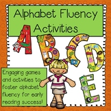 Alphabet Fluency Activities and Games