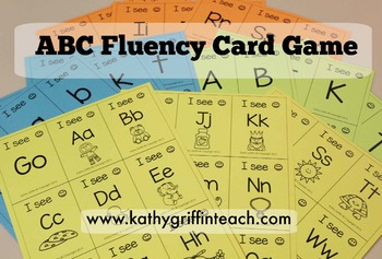 Alphabet Fluency Card Game