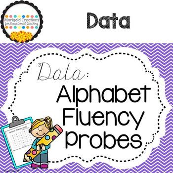 Alphabet Fluency Probes: Track letter recognition and letter sound fluency