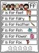 Alphabet Fluency Sentences