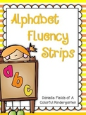 Alphabet Fluency Strips