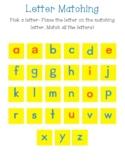 Alphabet Foam Magnetic Letter Matching Mat