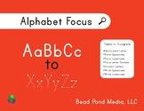 Alphabet Focus
