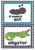 Alphabet Focus Letter Display Cards {Beginning Sounds}