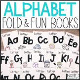 Alphabet Fold & Fun Books {Alphabet Activities for Distanc