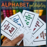 Alphabet Foldable Booklets   Alphabet Worksheets