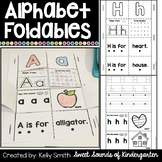 Alphabet Foldables {Alphabet and Beginning Sounds Printables}