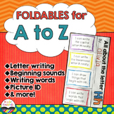 Alphabet Foldables