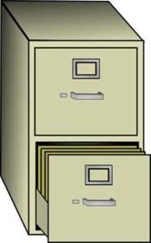 Alphabet Folder Clipart