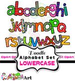 Alphabet Font Clipart