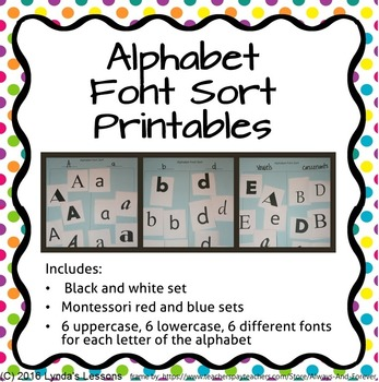 full alphabet font sort printables lower and upper case letters numbers