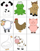 Alphabet Forced Choice RTI {Farm Animals}