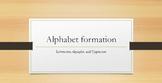 Alphabet Formation
