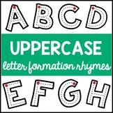 Alphabet Formation Rhymes