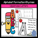 Alphabet Formation Rhymes - Uppercase Letters