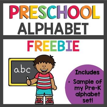Alphabet Freebie Sampler