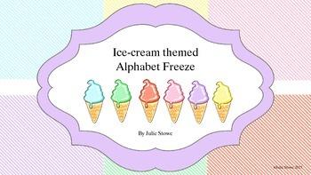 Alphabet Freeze