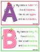 Alphabet Friends Mini Poster Set