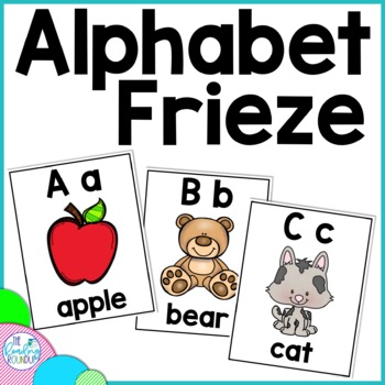 Alphabet Frieze FREE