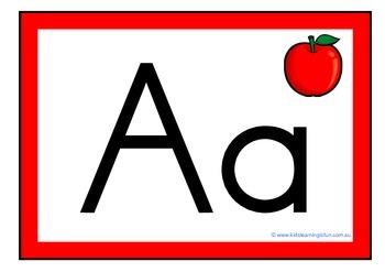 Alphabet Frieze - Using Abc Print Regular