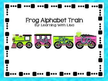 Alphabet (Frog Theme)