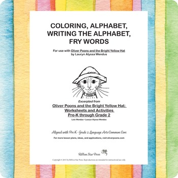 Alphabet, Fry Words, & Coloring Activities Download