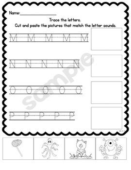 Alphabet Fun Activity Bundle for Kindergarten!
