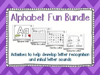 Alphabet Center Fun Bundle