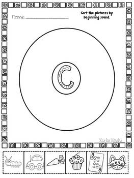 Alphabet Fun: Circle Maps