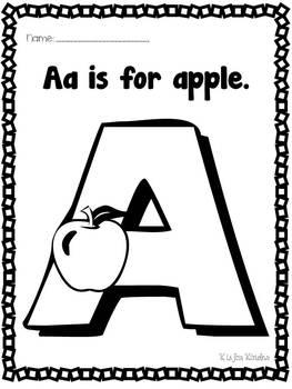 Alphabet Fun: Class Book