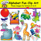 Alphabet Fun Clip Art