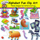 Alphabet Fun Clip Art