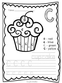 Alphabet Fun: Color by Letter