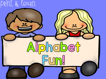 Alphabet Fun I