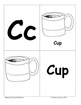 Alphabet Fun Lapbook/Game