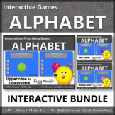 Alphabet Fun! Matching, Sequencing & Missing Letters Interactive Games {Monster}
