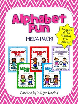 Alphabet Fun Mega Pack