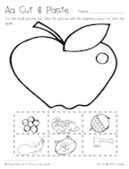 Alphabet Fun Pack - Letter A