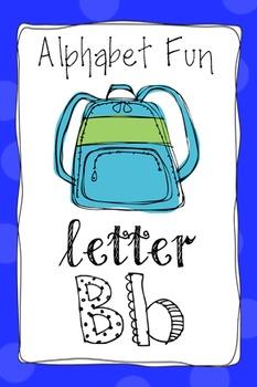 Alphabet Fun Pack - Letter B
