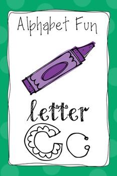 Alphabet Fun Pack - Letter C