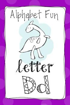 Alphabet Fun Pack - Letter D