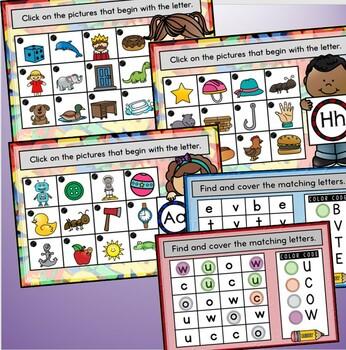 Alphabet Fun~Promethean Board Flip Chart