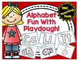 Alphabet Fun With Playdough