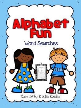 Alphabet Fun: Word Searches