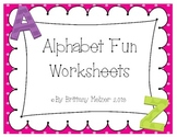 Alphabet Fun Worksheets