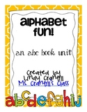 Alphabet Fun! {an abc book unit}