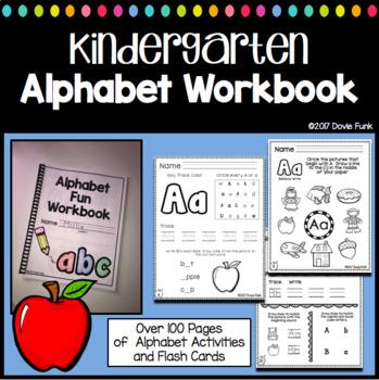 Alphabet Fun for Kindergarten - Over 90 Printable Worksheets